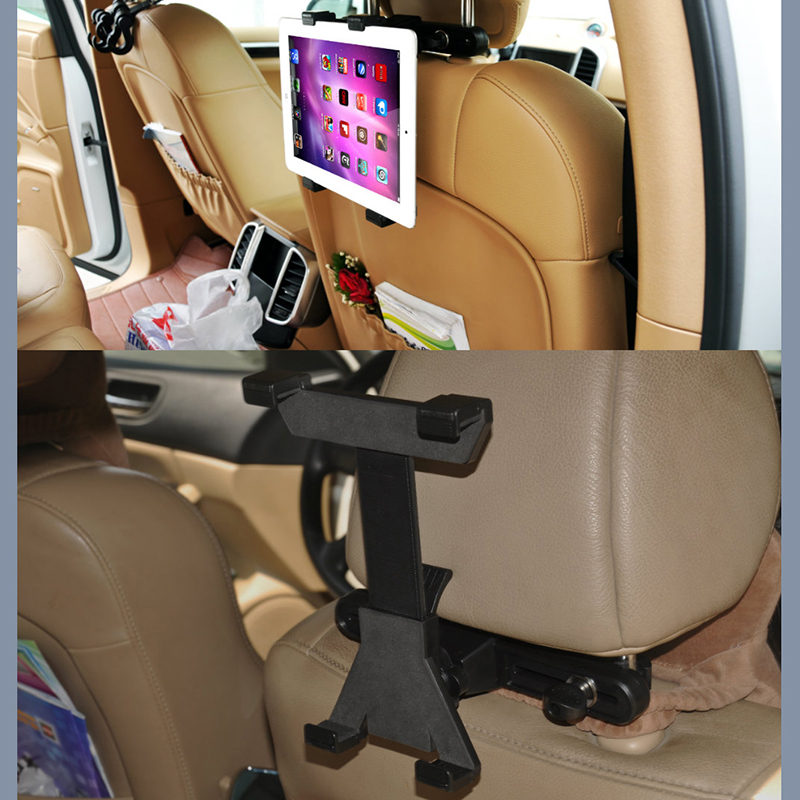 Soporte Tablet Car headrest Back Seat Mount Stand For Apple iPad 2/3/4/5 MINI Google Nexus 7 / samsung galaxy tab 4 10.1(China (Mainland))