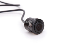 CCD Car Front Side View Camera Parking Kit with Waterproof Wide View Angle Free Shipping 500