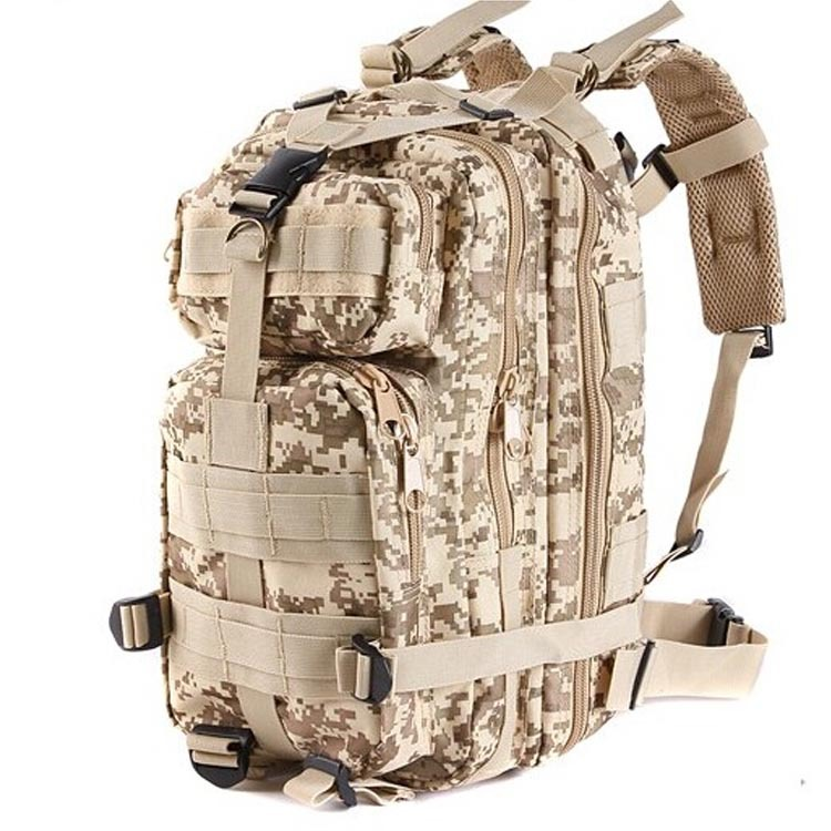 3P Multi-Mission Military Camouflage Tactical Airsoft Hunting Molle Backpack Outdoor Sports Climbing Camping Cycling Hiking Bag(China (Mainland))