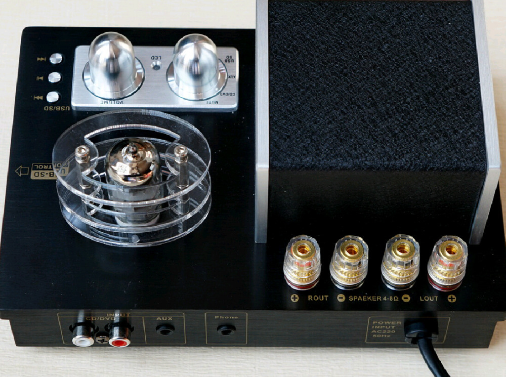 Have a fever hifi tube amplifier power amplifier tube amp the sound of nature and art HiFi preamplifier tube preamp(China (Mainland))