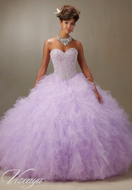 Искра кристаллы сладкие 16 платья милая оборками бальное платье розовый фиолетовый ...