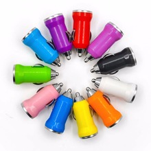 Car charger USB adapter cigarette lighter for iphone 5S for samsung S5 for all kinds of smartphone for ipad