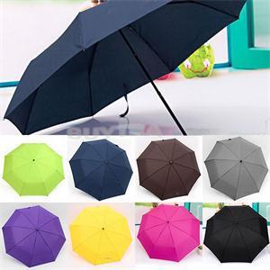 2014 New Portable Rain Gear Universal Umbrellas Folding Waterproof Umbrella Rose(China (Mainland))