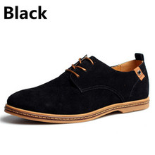 New 2015 Fashion Men Shoes Leather Shoes Men's Flats Shoes Low men Oxford Shoes(China (Mainland))