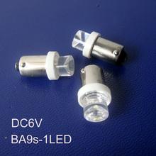 High quality ba9s 6.3v led bulbs,6v ba9s led instrument lights,ba9s 6.3v lamps ba9s LED indicating lamp free shipping 10pcs/lot(China (Mainland))
