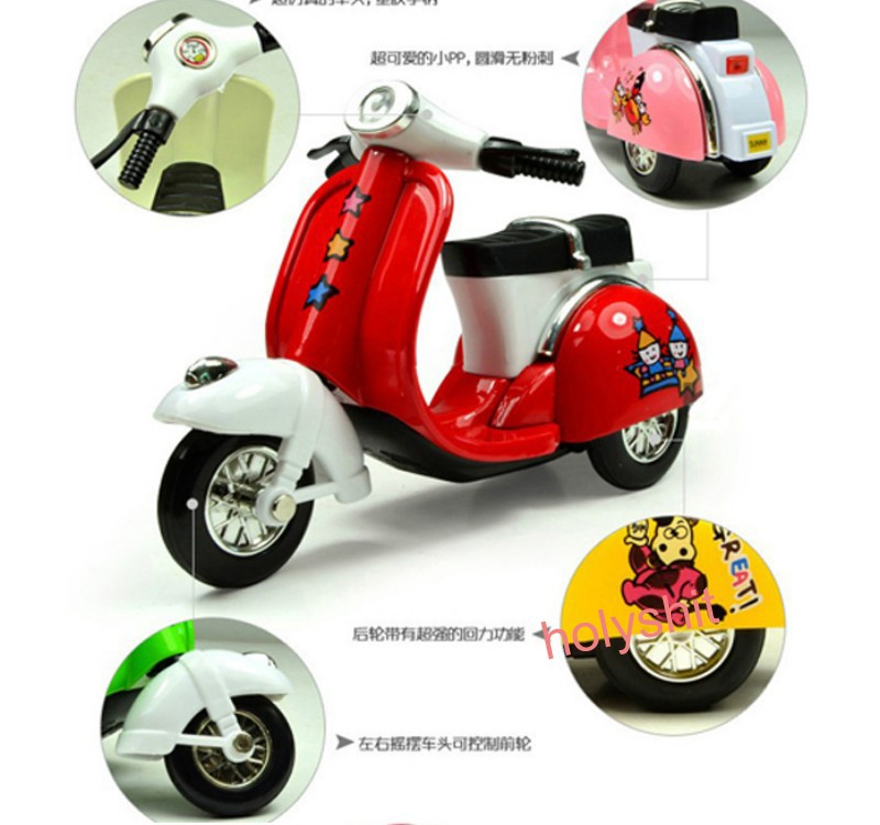 baby toy motorcycle best gift for kids children small motort very cool pull back motor cycle 6colors(China (Mainland))