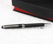 The classic 163 MEISTERSTUCK black resin pen low-cost wholesale Ballpoint Pen(China (Mainland))