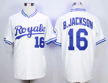 Royals Jersey 16 bo jackson jersey 35 Eric Hosmer 4 Alex Gordon 8 Moustakas 13 Salvador Perez Men women Kids Throwback baseball(China (Mainland))