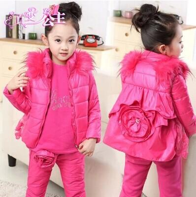 Модные зимние костюмы для девочек