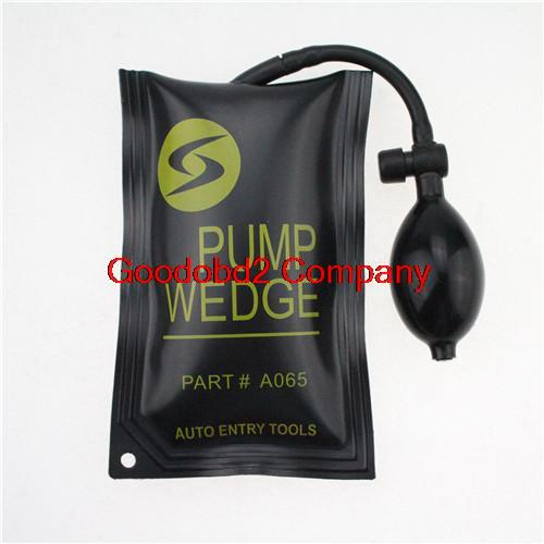 Best Black KLOM PUMP WEDGE LOCKSMITH TOOLS Auto Air Wedge lock pick diagnostic tool pump wedge(China (Mainland))