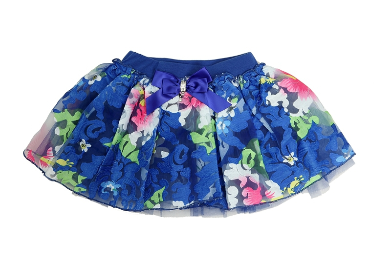 2015 fashion summer Children clothes for Baby girls floral tutu skirts chiffon flowers bow mini skirts size for 2-6Y<br><br>Aliexpress
