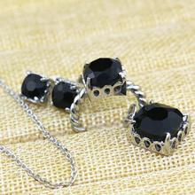 Wholesale 2015 cheap best selling fashion jewelry set with free sample, latest...Material Black crystal , Rhinestone Jewelry(China (Mainland))
