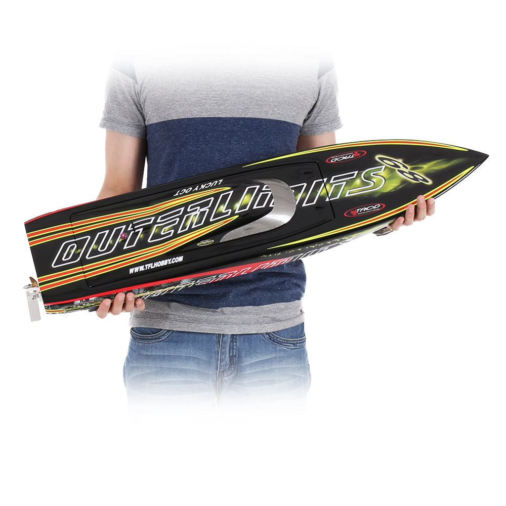 Freeshipping from Germany 1126A Patron Saint 2.4G Racing Brushless Electric Water Cooling Speedboat Fibre Glass RC Boat(China (Mainland))