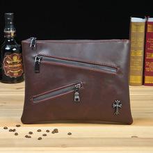 New men's briefcase bag  Korean male bag  retro  envelope handbag 6855(China (Mainland))