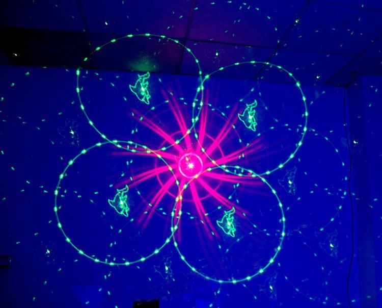 Купить AOBO Освещение 3 Объектива 48 Модели Смешивания Лазерный Проектор Этап Эффект освещения Синий СВЕТОДИОД Освещение Сцены Показать Дискотека DJ Партии освещение
