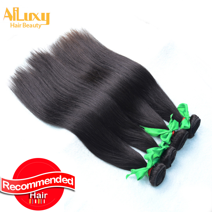 Brazilian virgin hair straight Free shipping,100% human hair extension, 1pcs/lot ,color 1b,8-30inches in stock<br><br>Aliexpress