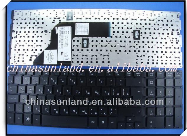 Фотография Laptop Keyboard For HP Probook 4510S 4515S    Black without frame BE Belgium SN5092 SG-33200-2JA