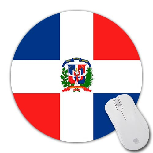 Customise DIY Dominican Republic Flag Wallpaper Silicon Mousepad Mice Mats Speed Mouse Pad Computer Rubber Mouse Mat Mices Pads(China (Mainland))
