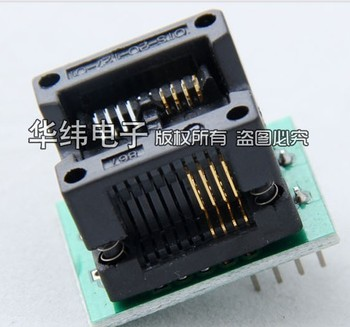 Free shipping,  SOP8 to DIP8 IC socket Programmer adapter Socket High Quality