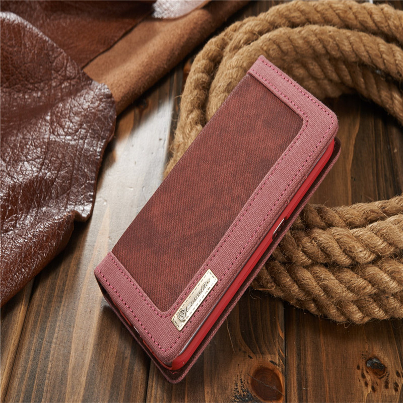 Luxury CaseMe Jeans+Leather Flip Wallet Card Mobile Phone Stand Case For Samsung Galaxy s6 Cover Bags Business Enterprise style(China (Mainland))