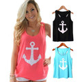 New Tank Tops Women summer Round Neck Loose T Shirt Ladies Vest Singlets solid girl college student female simple design tanks