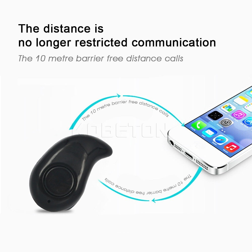 2PCSNew Mini Style Wireless Bluetooth Headphone S530 In-ear V4.0 Stealth Earphone Phone Headset Handfree Universal For All Phone