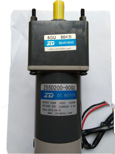 200 Watt 90V DC gear motor and 110 VAC input 90V output speed control and 25 W 5v and 120 W 24v Power Supply to Mexico DC MOTOR(China (Mainland))