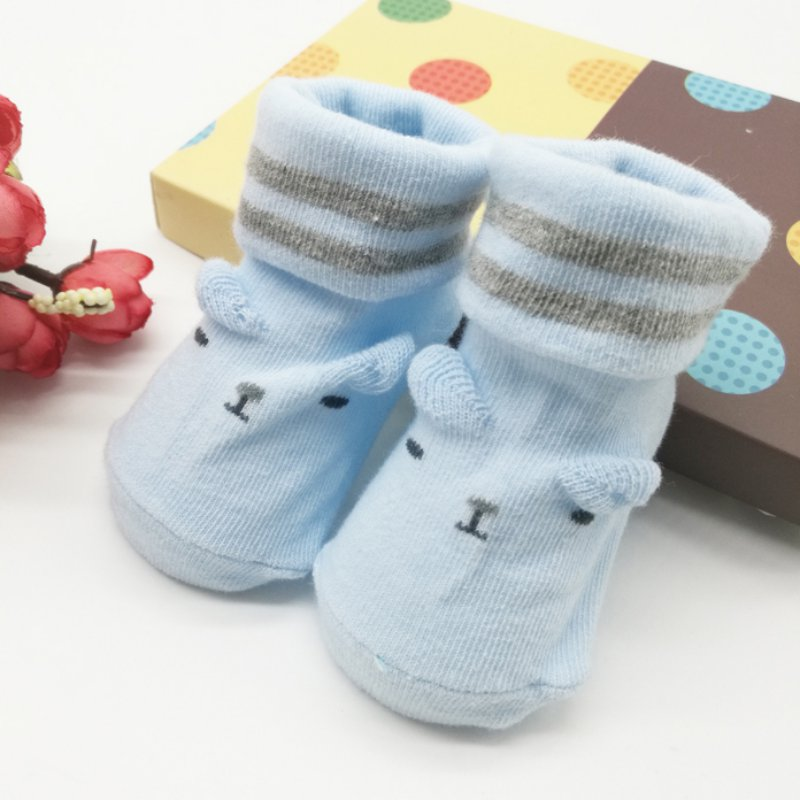 Top new Warm cotton baby shoes cartoon babies Lovely Toddler Infant Baby Boy Girl Soft Anti-slip Sole Socks Newborn Socks 082(China (Mainland))