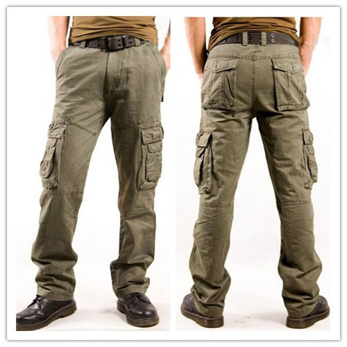 Pants With Lots of Pockets Pockets Pants Outdoor Hot
