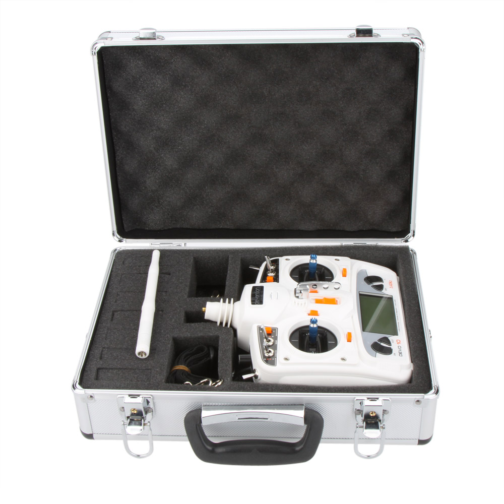 High Quality Universal Transmitter Aluminum Case for Walkera Esky Transmitter for RC Plane Quadcopter(China (Mainland))
