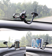 Universal 360 Degree Rotation Suction Cup Car Windshield Mobile Phone Holder Bracket Mount for Iphone 5 6 6s for PSP GPS Mount(China (Mainland))