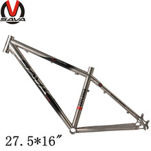 "SAVA Titanium Bicycle Frame 650B Ti Mountain Bike MTB Frame Size 27.5*16"" /26*17"" Bike Parts(China (Mainland))"