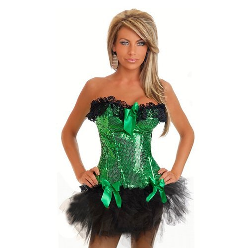 2012 New Arrvial  Sexy Gorgeous Green   Shapers Corest Slingerie underwear+Sexy Skirt+T Panny+ CS0695+Free Shipping