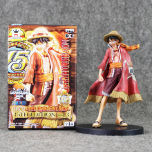 Buy 17cm Hot Anime One Piece Monkey D Luffy DXF Grandline Men 15th Edition Vol.3 PVC action figure Model Toys for $9.10 in AliExpress store