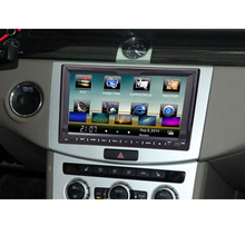 "Universal 7"" HD Touch Screen 2 Din Car DVD/USB/SD Player Bluetooth GPS Stereo Radio Car Entertainment System for All Cars(China (Mainland))"