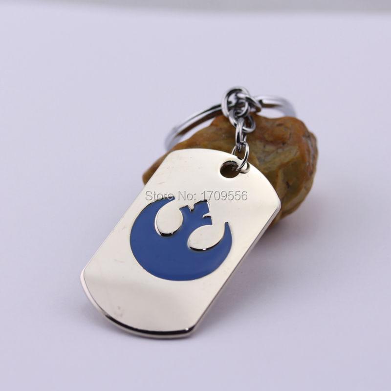 Movie Series Keyring Hot Film Star Wars The Rebel Alliance Logo Simple Design Fashion Keychain(China (Mainland))