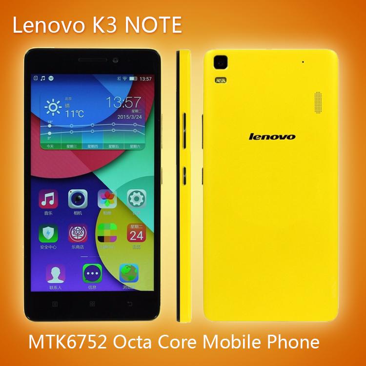 Мобильный телефон Lenovo K3 k50/t5 4G LTE Android 5.0 MTK6752 Core Dual SIM 5.5 FHD 2G RAM 13 сотовый телефон lg k100ds k3 lte black blue