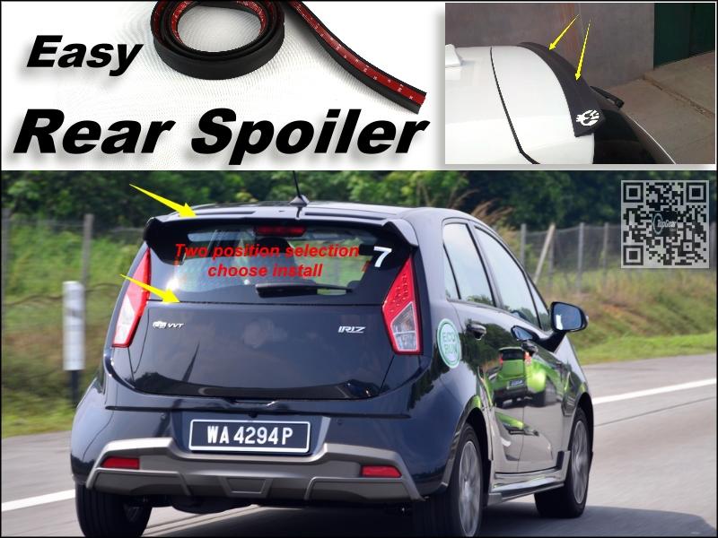 Root / Rear Spoiler For Proton Iriz / Global Small Car Trunk Splitter / Ducatail Deflector For TG Fans Easy / Free Modeling<br><br>Aliexpress