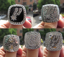 5pcs 1999 2003 2005 2007 2014 San Antonio Spur Championship Ring DUNCAN five together sport Basketball ring fan gift wholsesale