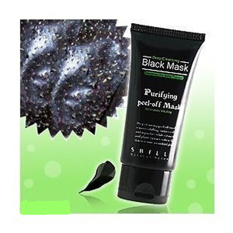 1pcs Deep Cleansing purifying peel off Black mud Facail face mask Remove blackhead face mask,free shipping(China (Mainland))