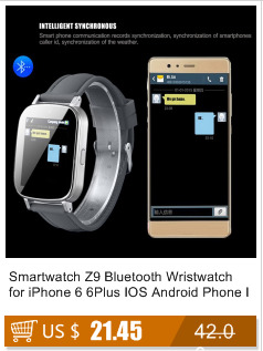 2016 New Bluetooth Smart Watch Z9 For Android LG Sony and for IOS Apple Support SIM Card Wrist Watch Wearable Device With Camera