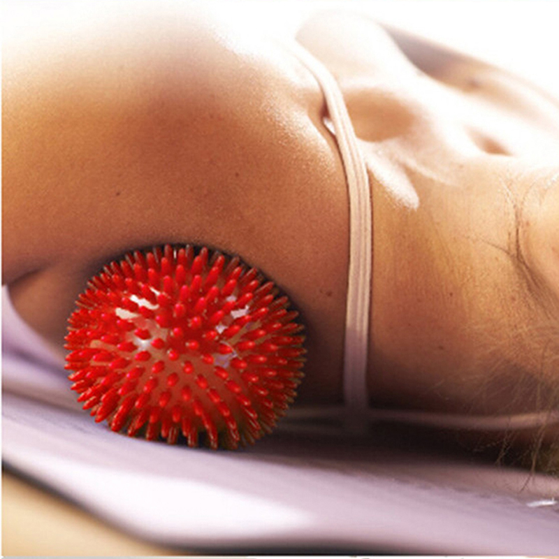 Trigger Point Spiky Massage Yoga Ball Roller Therapy Stress Tension Eases NB0245(China (Mainland))