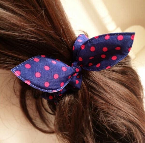 Bowknot Headband Dot Cute Bowknot Headband