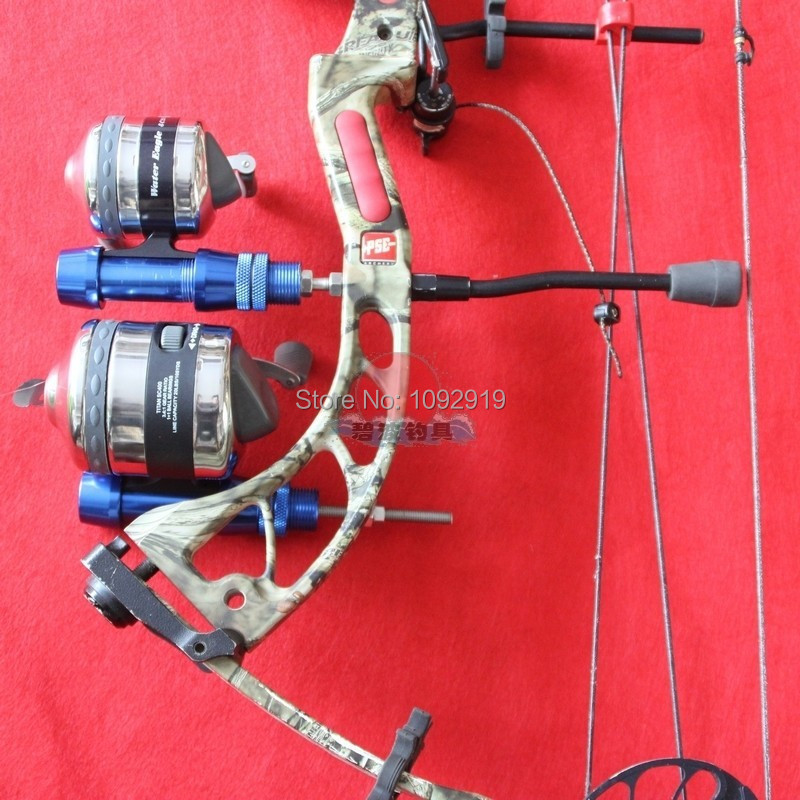 Bow fishing reel kit for compound for Fishing bow kit