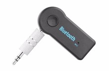 Hot!!!Universal 3.5mm Car Bluetooth Audio Music Receiver Adapter Auto AUX Streaming A2DP Kit for Speaker Headphone