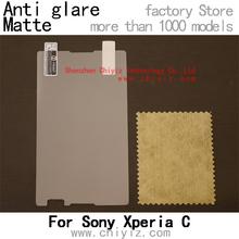 1x Matte Anti-glare LCD Screen Protector Guard Cover Film Shield For Sony Xperia C HSPA+ C2305 S39h