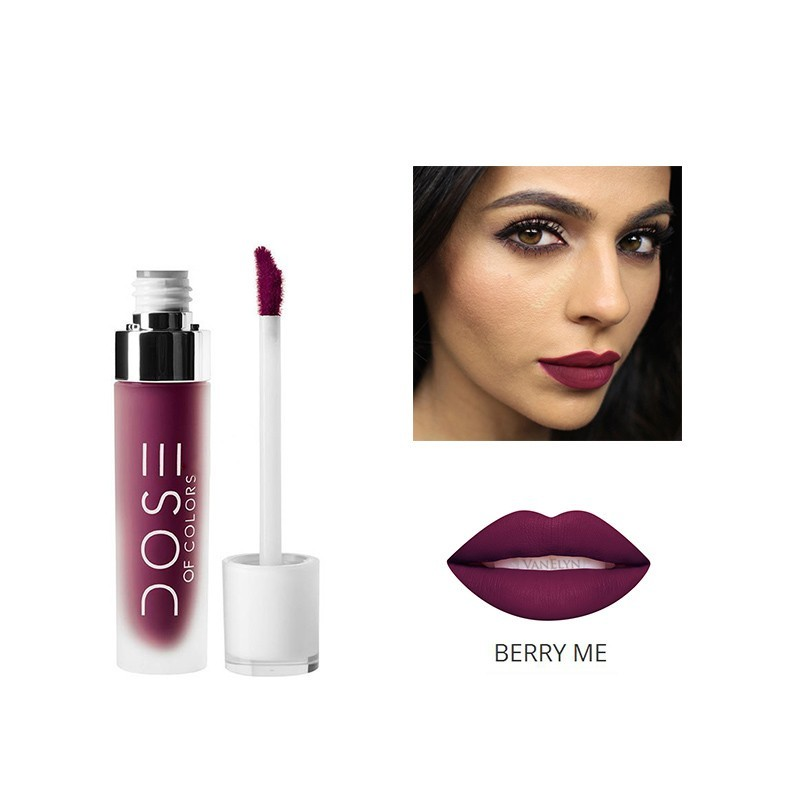NEW 12 colors Dosed of colors matte Lipstick matte Liquid Lipstick long-Lasting Lipstick Waterproof Lip Gloss TOO FOR FACED