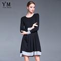 YuooMuoo High Quality European Style Newest Fashion 2016 Women s Long Sleeve O neck Plus Size