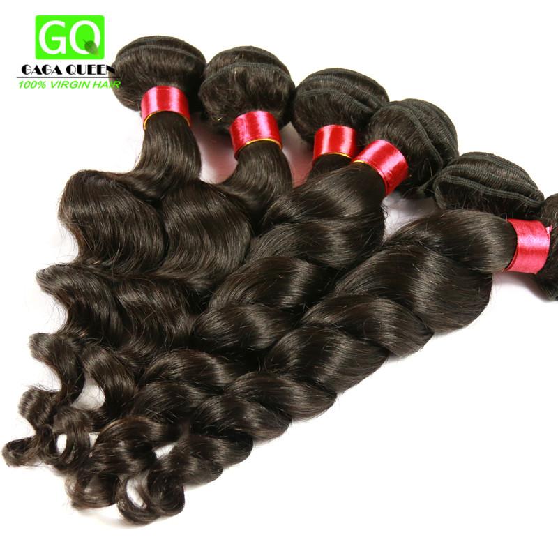 Grade 7A Filipino Virgin Hair Unprocessed Human Hair Weaves, Cheap Loose Wave Wavy 3Pcs Virgin Filipino Hair Bundles Tangle Free