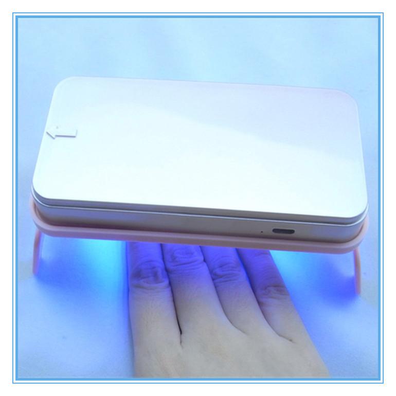 LED 5W Nail Art Lamp Portable New Phone Shape Manicure Dryer Care Machine - Fashion Supermarket Store store